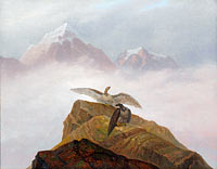 Carl Gustav Carus: Fantasy of the Alps