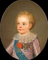 Crownprince, Le Dauphin, Louis-Joseph-Xavier-François of France (1781-1789)