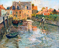 Frits Thaulow: Low Water