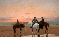 Three Riders at the Sea