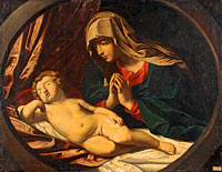 The Virgin and the Sleeping Child
