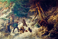 Bear-Hunting in the Winter