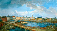 Elias Martin: View of Stockholm.