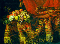Sumptuous Still Life with Fruit
