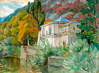 By Lago di Como. Study from Italy
