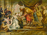 Peter Paul Rubens: Esther and Ahasuerus
