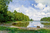 Олоф Арборелиус: Lake View at Engelsberg, Västmanland