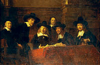 Staalmeesters. After Rembrandt