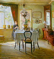 Вигго Йохансен: Sunlight in the Dining-room