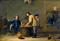 Tavern Scene with Pipe-smokers