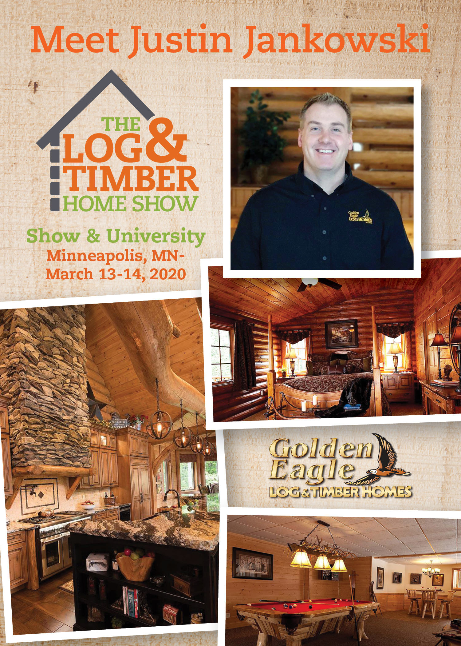 Golden Eagle Log & Timber Homes | Minneapolis, MN | March 13-14, 2020 | Workshop Presentation