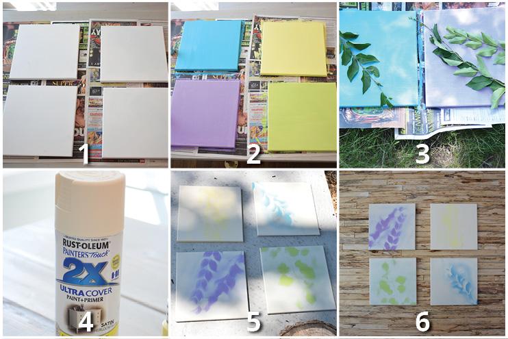 DIY-painted-leaf-canvas-steps