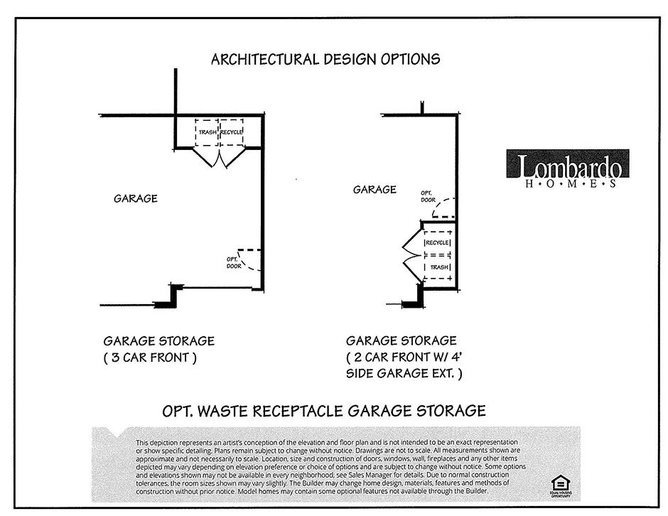 Design Options - Garage Storage