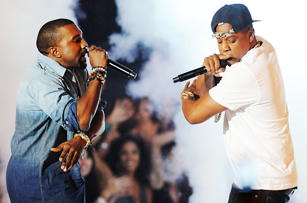 Jay Z si Kanye West