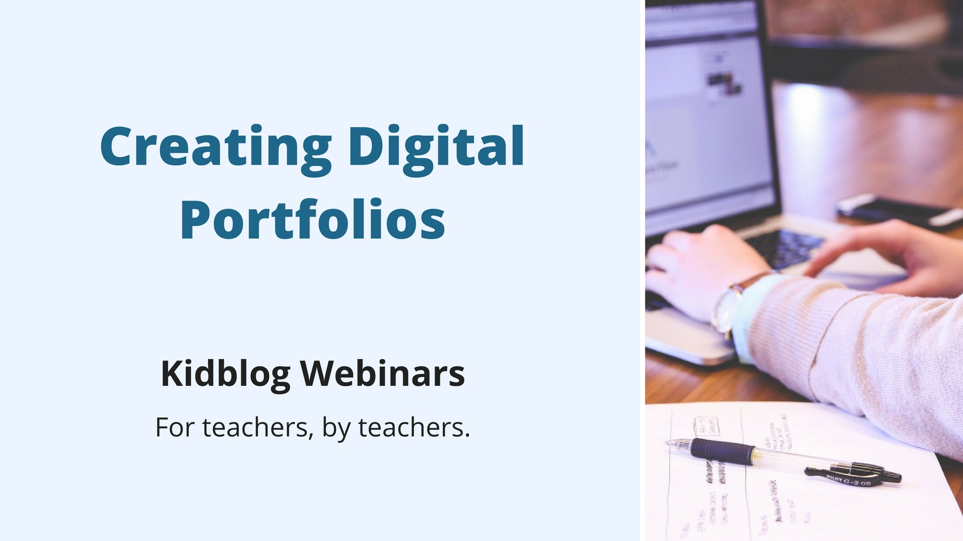 Webinar: Creating Digital Portfolios
