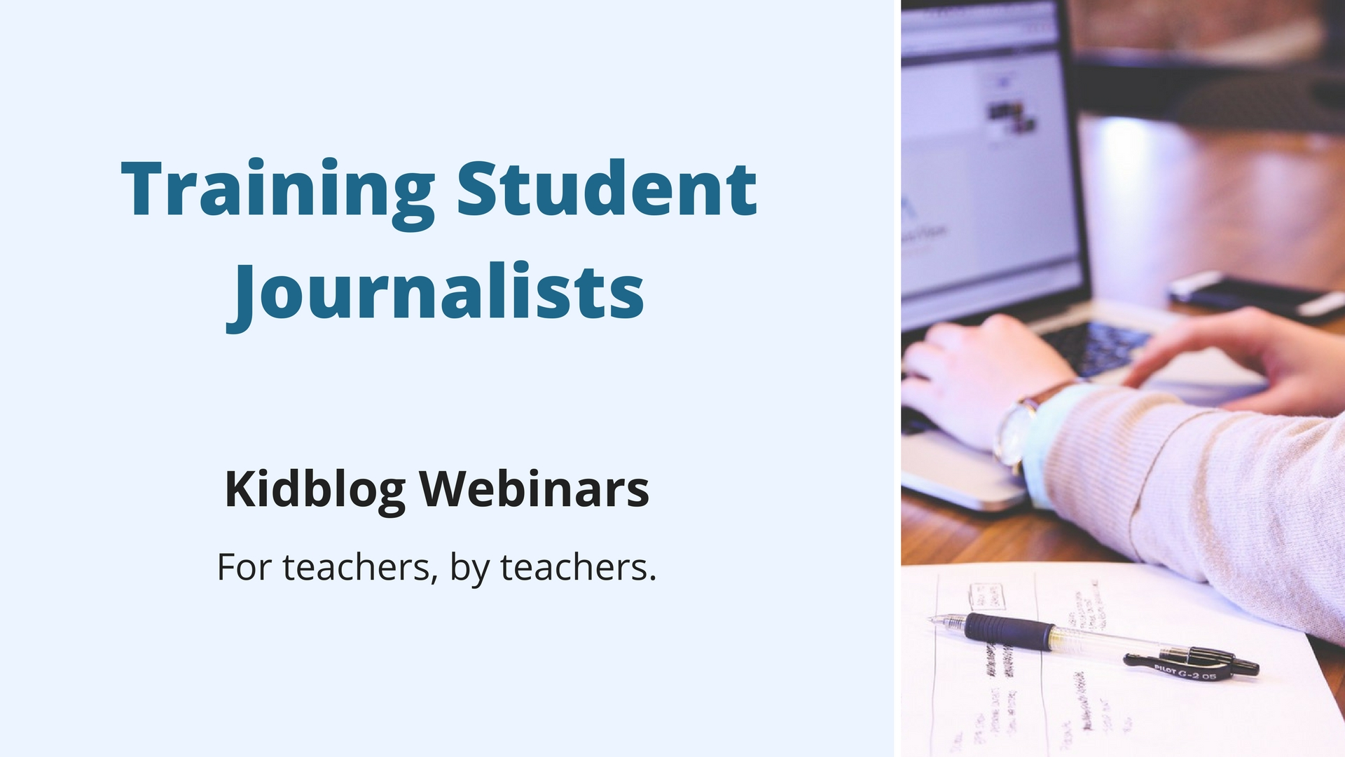 Webinar: Training Student Journalists