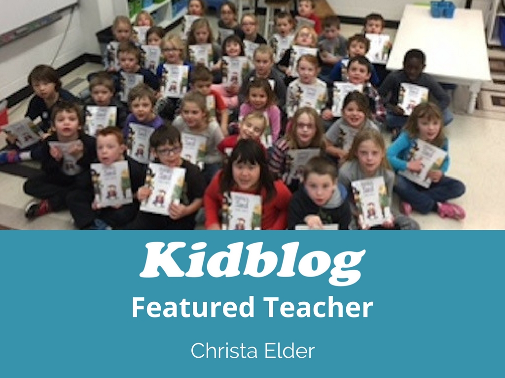 Kidblog Spotlight On: Christa Elder