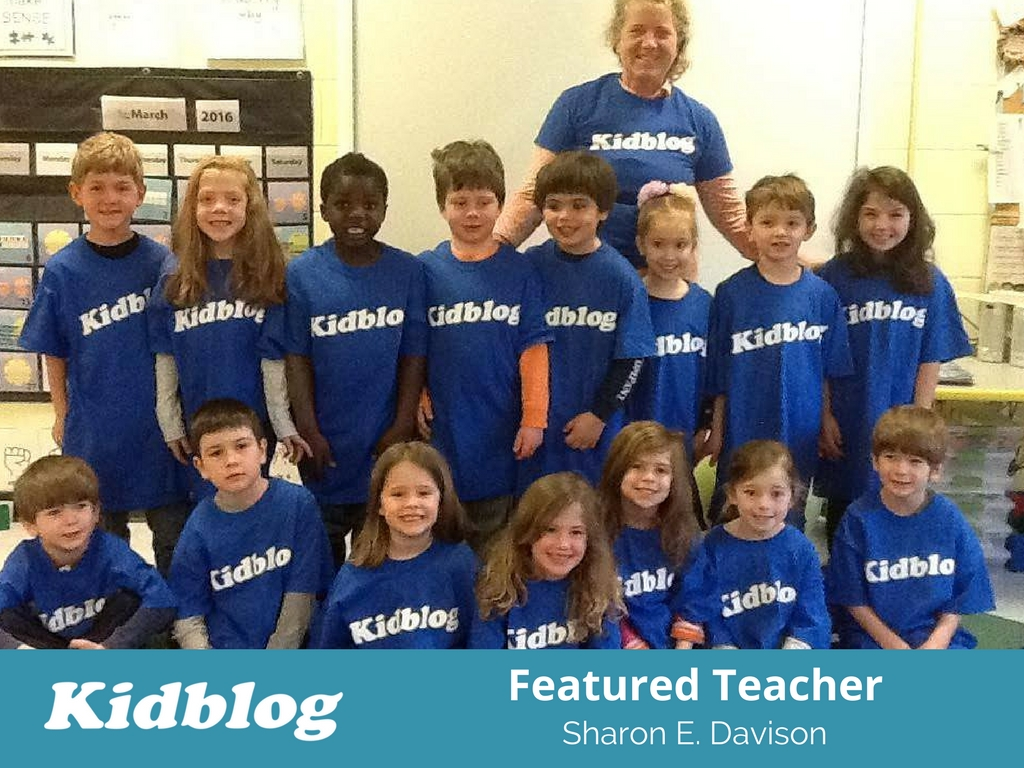 Kidblog Spotlight On: Sharon Davison