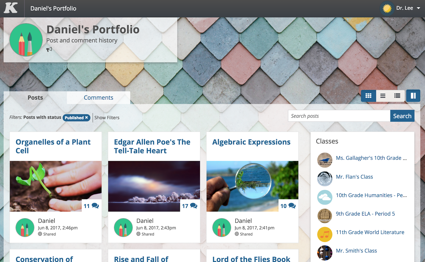 5 reasons to build student portfolios on Kidblog
