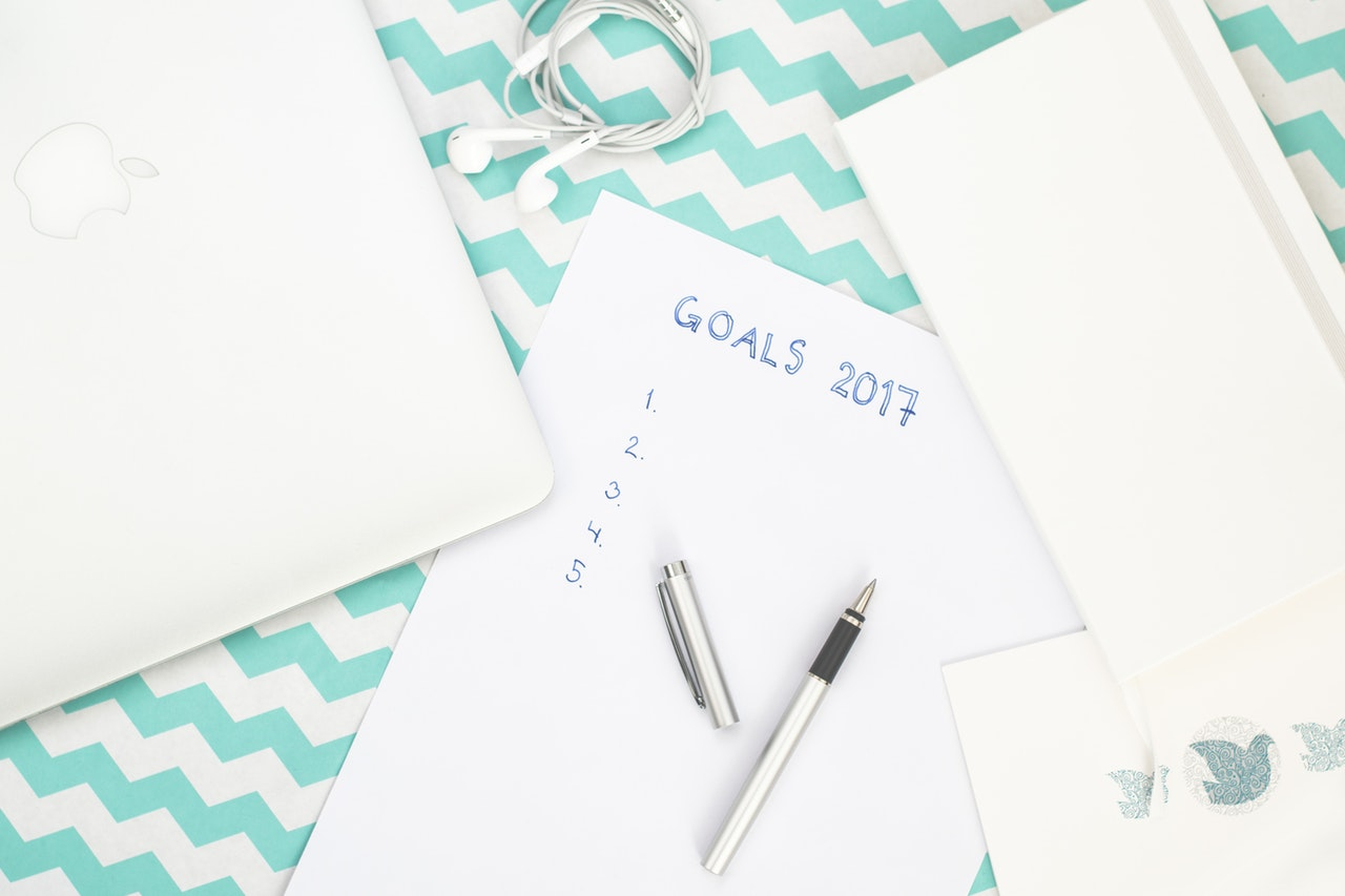 Setting and following through on goals
