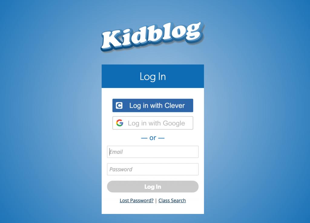 kidblog-clever