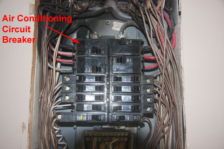circuit breaker heat damage from loose connection