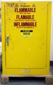Flammable Liquids Safe Storage