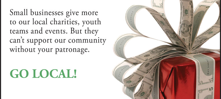 Gift ad charity amiba green