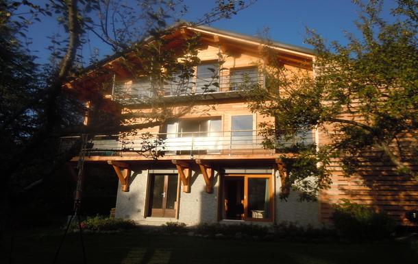 façade sud vue sur le Mont Joly
