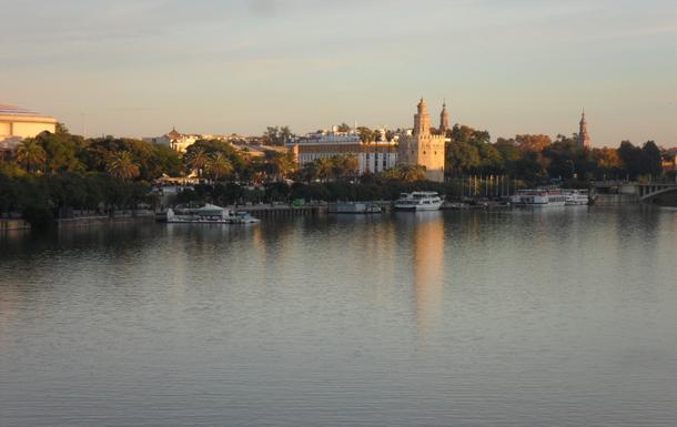 Torre del Oro y Río Guadalquivir