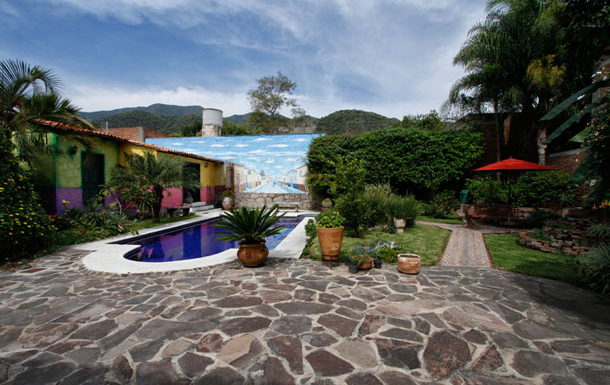 Home exchange country Meksika,Ajijic, Jalisco,Hacienda style home in lovely Mexican village,Home Exchange Listing Image