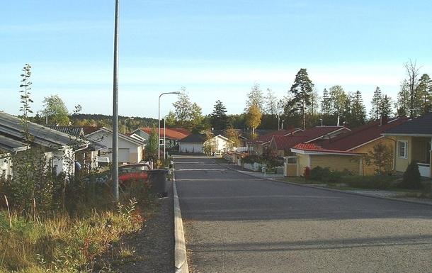 BoligBytte til,Finland,Veikkola,Our street