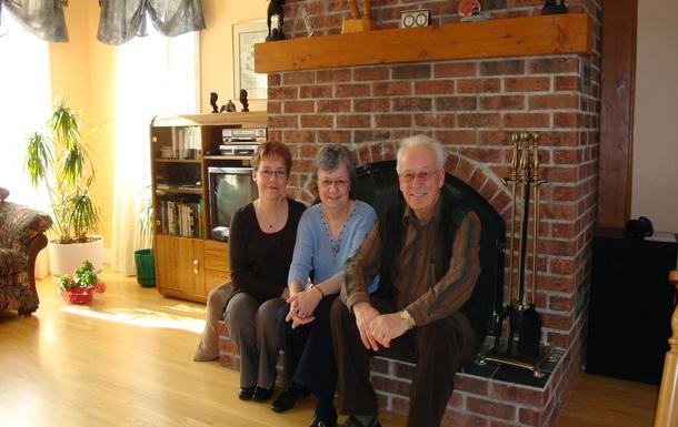 Three happy retirees