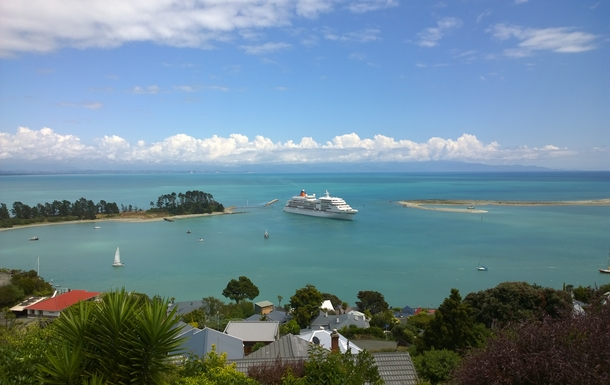 Boligbytte i  New Zealand,Nelson, Nelson,House Port Hills.  2K Nelson center,Home Exchange & House Swap Listing Image