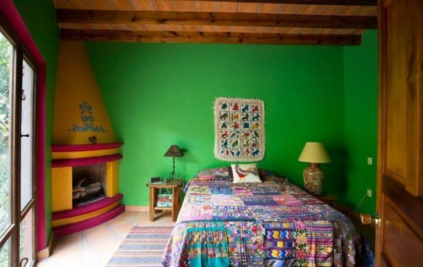 BoligBytte til,Mexico,San Miguel de Allende,2nd casita bedroom with double bed