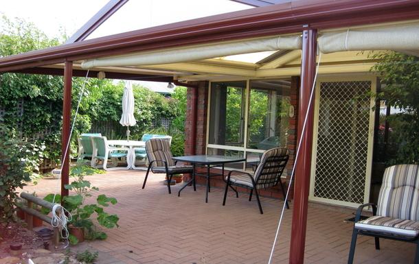 Home exchange in,Australia,WILLUNGA,Back Verandah