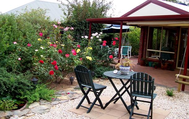 Home exchange in,Australia,WILLUNGA,Back Garden