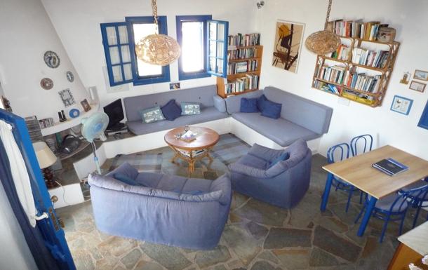 BoligBytte til,Greece,Paros, Greece.  Tsanes,Lounge