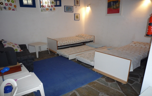 BoligBytte til,Greece,Paros, Greece.  Tsanes,Downstairs studio