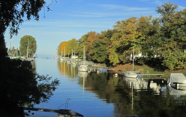 Rivière et lac (Yverdon)