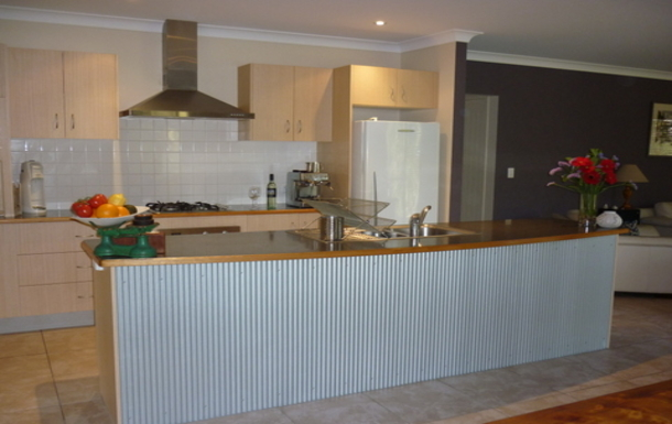 Home exchange in,Australia,OCEAN SHORES,Contemporary and modern well equipped kitchen