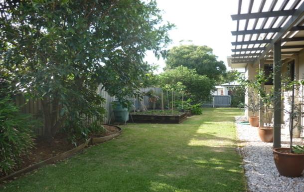 Home exchange in,Australia,OCEAN SHORES,Back garden area