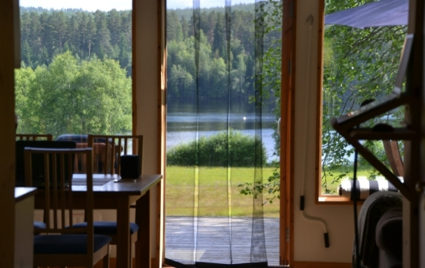 Home exchange country İsveç,Älvdalen, Dalarna,The house by the river in Dalarna,Home Exchange Listing Image