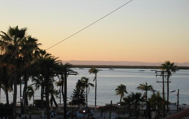 BoligBytte til,Mexico,La Paz,Sunset views every night from the upper terrace!