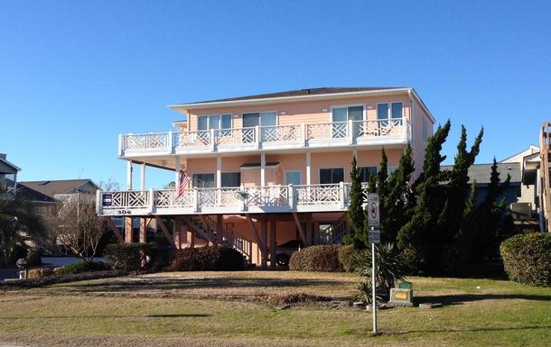 BoligBytte til USA,Sunset Beach, North Carolina,Beach House - Second Row,Boligbytte billeder