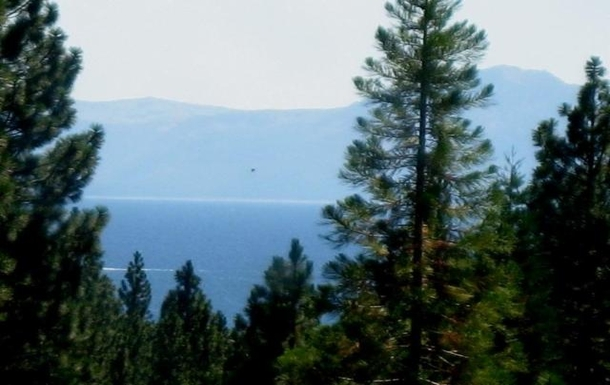View of Lake Tahoe from upstairs loft