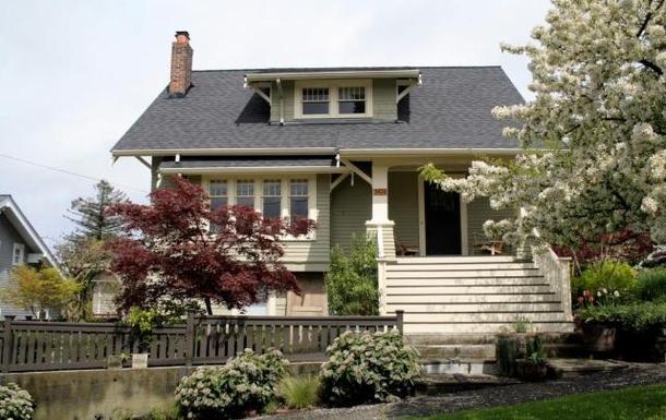 Échange de maison en États-Unis,Seattle, Washington,1915 Craftsman home in NW Seattle, Washington,Echange de maison, photos du bien