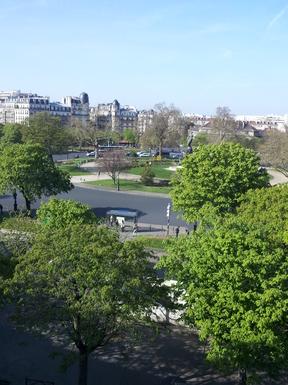 Superbe vue sur la Place de la Nation, Paris 11
