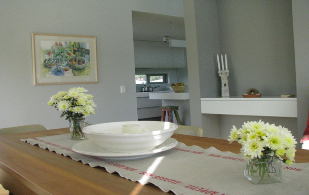 BoligBytte til,New Zealand,RD 1 WAIKANAE,DINING ROOM LOOKING INTO KITCHEN