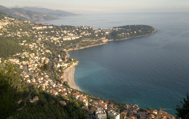 the Cap Martin where our residence is situated
